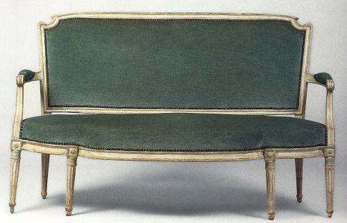 A French Louis XVI sofa