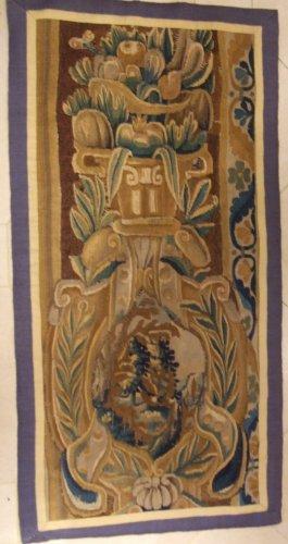 Fragment of fine Aubusson tapestry, XVIIIth century