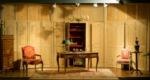 A Louis XV Wood paneling set