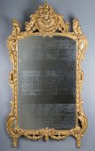 A French provencal Louis XVI giltwood mirror