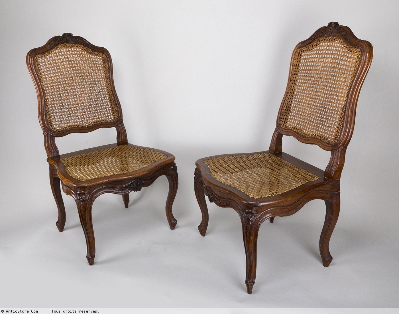 chaise louis xv antiquit s sur anticstore. Black Bedroom Furniture Sets. Home Design Ideas