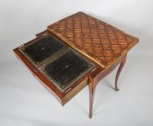 Louis XV Table forming desk stamped Dubut