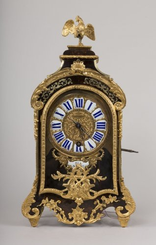Small French Regence period cartel with repeating tone - Clocks Style French Regence