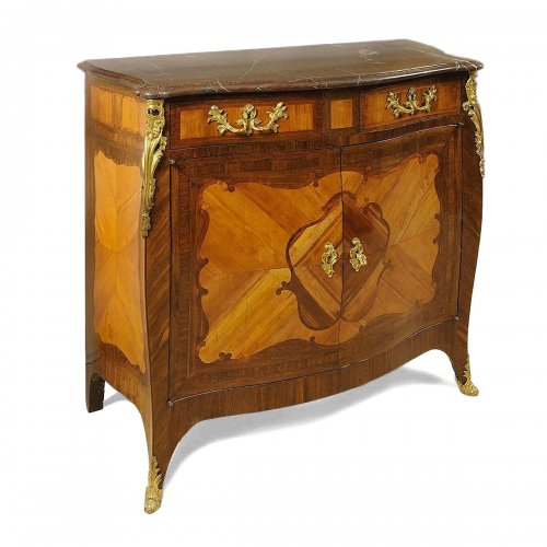 French Louis XV commode stamped Lebesgue