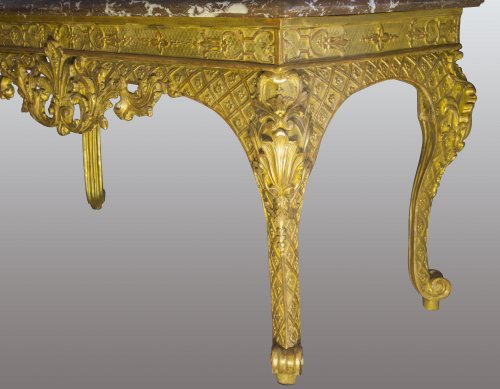French Regence period Wildfowl table - French Regence