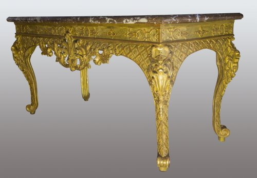 French Regence - French Regence period Wildfowl table