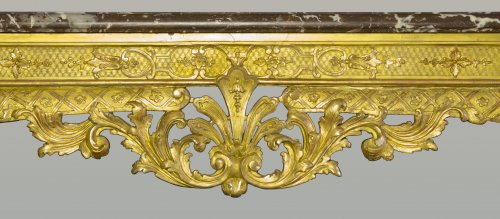 Antiquités - French Regence period Wildfowl table