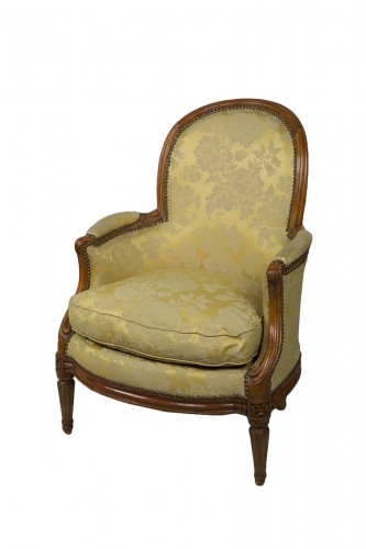 French Bergere armchair of Transition period