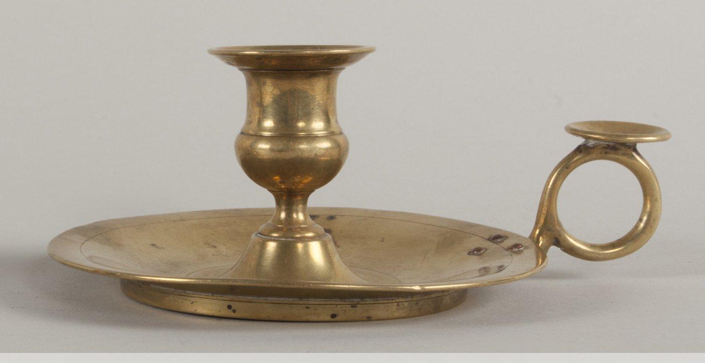 Paire de bougeoirs en bronze dor xixe si cle - Galerie gilles linossier ...