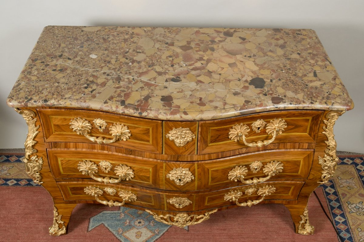 Commode tombeau d 39 poque r gence attribu e mondon xviiie si cle n 5 - Galerie gilles linossier ...