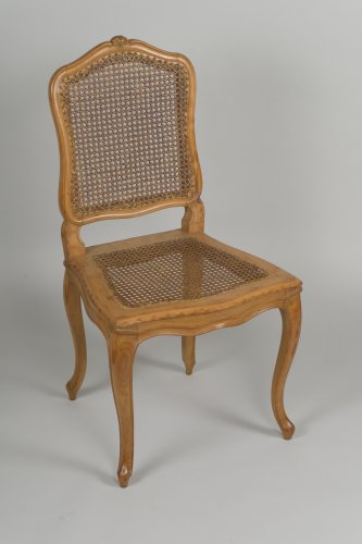 Seating  - Set Of 6 Louis XV Caned Chairs