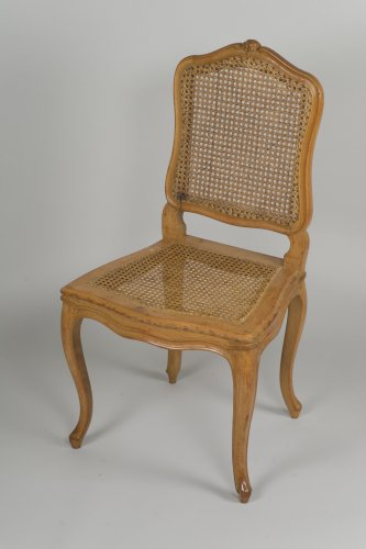 Set Of 6 Louis XV Caned Chairs  - Louis XV