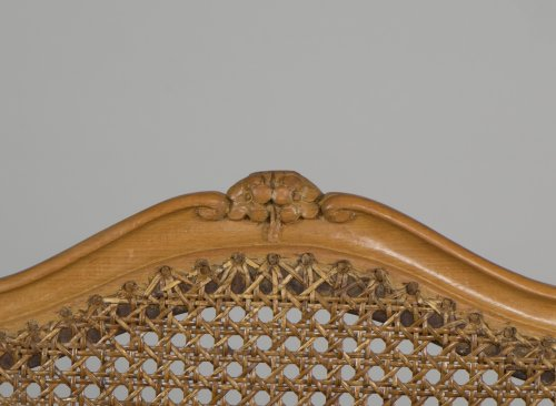 Antiquités - Set Of 6 Louis XV Caned Chairs