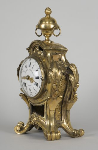 Louis XV Clock Signed By Benoist Gerard à Paris - Clocks Style Louis XV