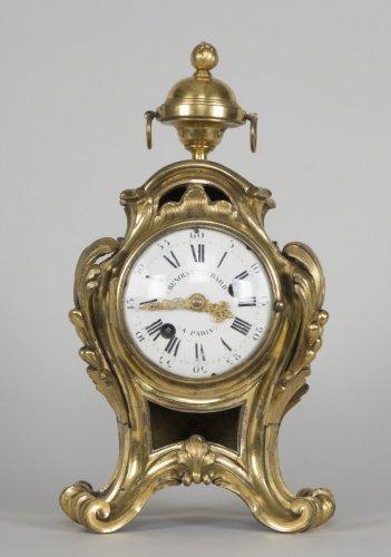 Louis XV - Louis XV Clock Signed By Benoist Gerard à Paris