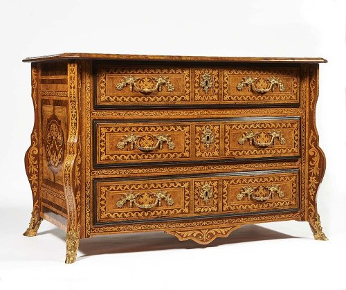 """French """"Commode Mazarine"""" By Thomas Hache"""