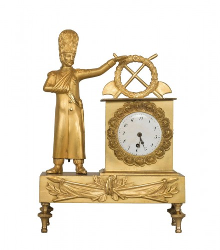 French First Empire Little Clock