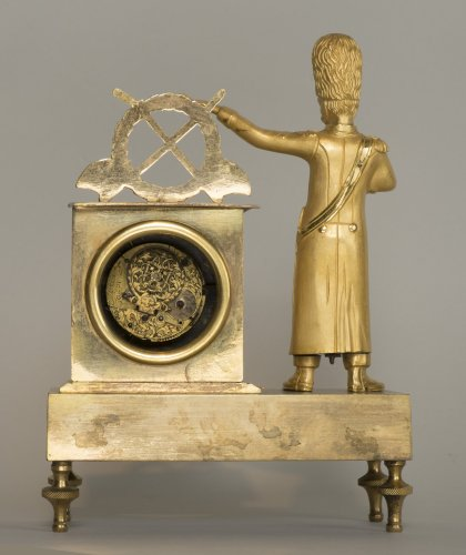 French First Empire Little Clock - Clocks Style Empire
