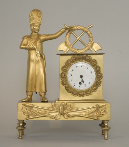 French First Empire Little Clock -