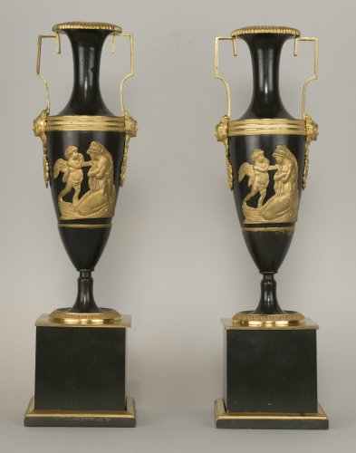 Decorative Objects  - Pair Of French Directoire Vases