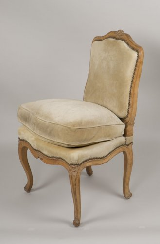 "Louis XV Beech ""Chauffeuse"" Chair - Seating Style Louis XV"