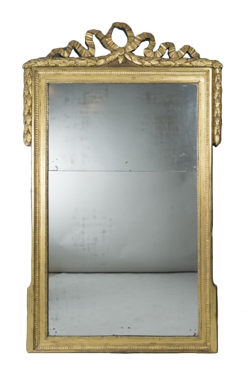 Grand miroir louis xvi proven al xviiie si cle for Miroir louis xvi
