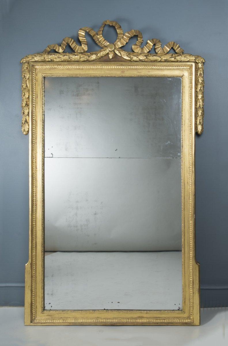 Grand miroir louis xvi proven al xviiie si cle - Galerie gilles linossier ...