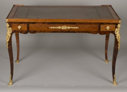 Louis XV Tric Trac Table Stamped by Jean Potarange - Furniture Style Louis XV