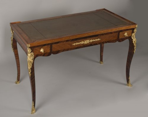 Furniture  - Louis XV Tric Trac Table Stamped by Jean Potarange