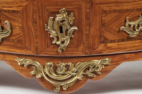 Furniture  - Commode Tombeau Stamped by Jean Charles Ellaume