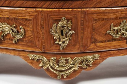 Commode Tombeau Stamped by Jean Charles Ellaume - Louis XV