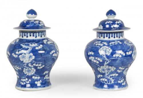 Pair of Kangxi vases