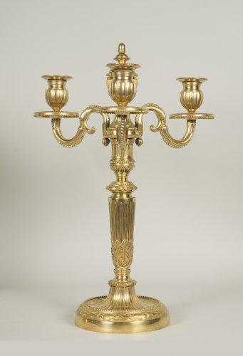 Pair of Louis XVI candelabrum -