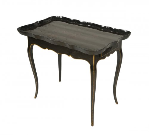 European Lacquer Cabaret Table
