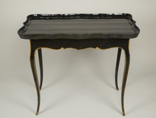 European Lacquer Cabaret Table - Furniture Style Louis XV