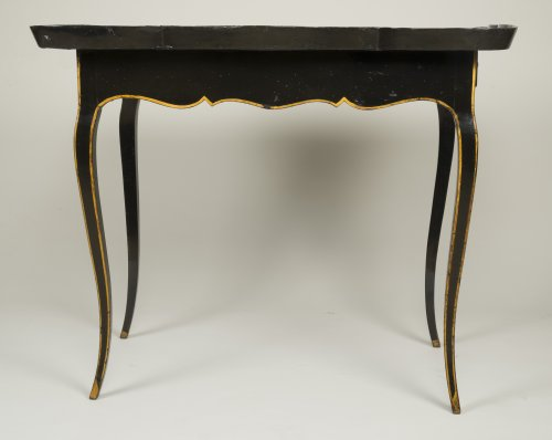 European Lacquer Cabaret Table -