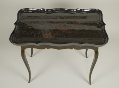 18th century - European Lacquer Cabaret Table