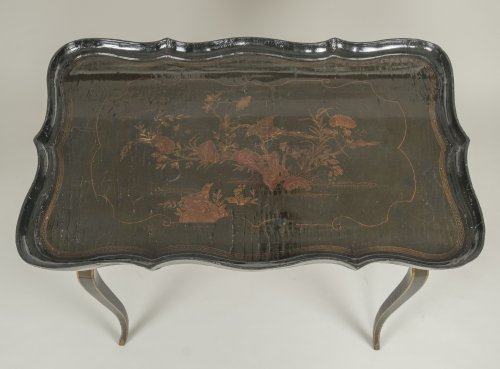 European Lacquer Cabaret Table - Louis XV