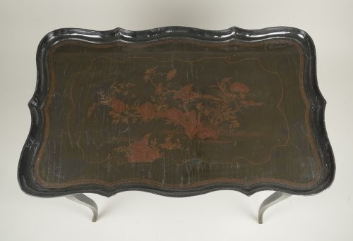Louis XV - European Lacquer Cabaret Table