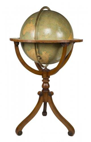Late 19th Century Parquet Globe