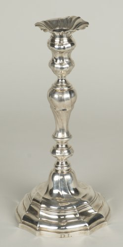 Antique Silver  - Pair of silver candlesticks - Master Goldsmith ATH