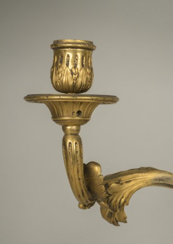 18th century - Pair of Louis XV sconces