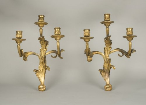 Antiquités - Pair of Louis XV sconces