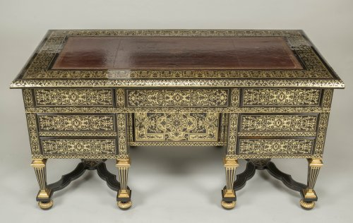 Great Mazarin Desk by Alexandre Jean Oppenordt - Furniture Style Louis XIV