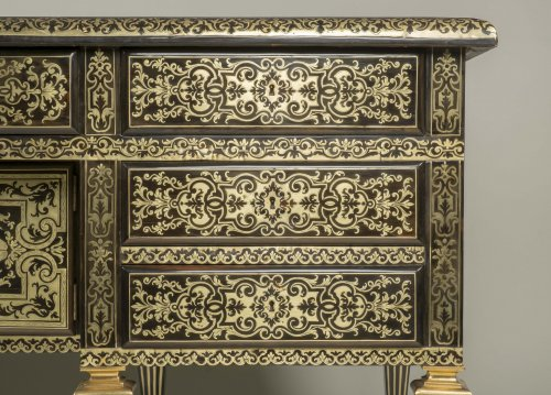 Louis XIV - Great Mazarin Desk by Alexandre Jean Oppenordt