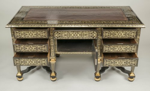 Antiquités - Great Mazarin Desk by Alexandre Jean Oppenordt