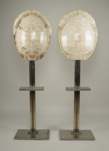 Antiquités - pair of lamps by Romeo Rega