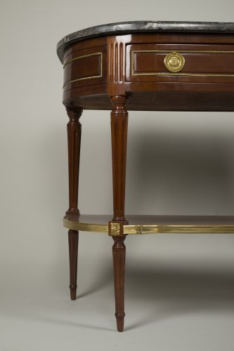 Louis XVI Mahogany console table -