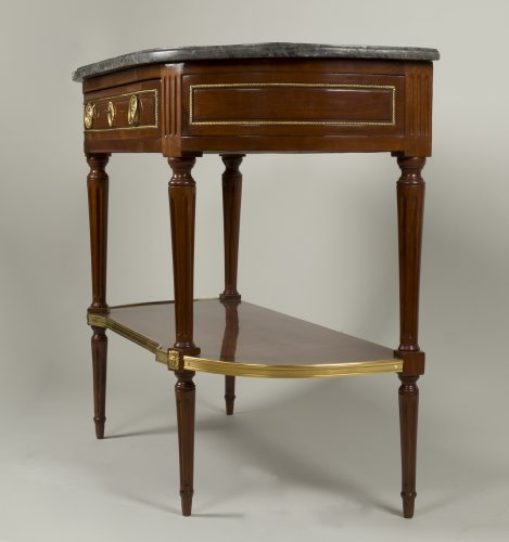 Louis XVI - Louis XVI Mahogany console table