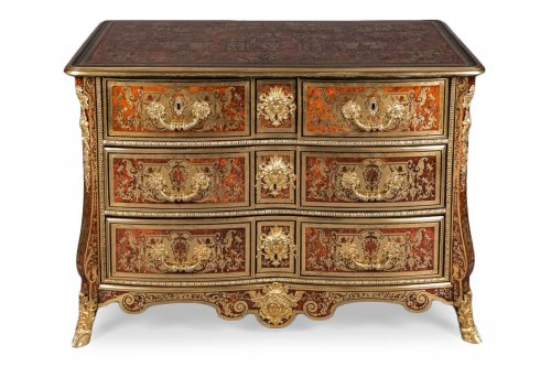 Louis XIV Boulle Marquetry commode attributed to Nicolas Sageot